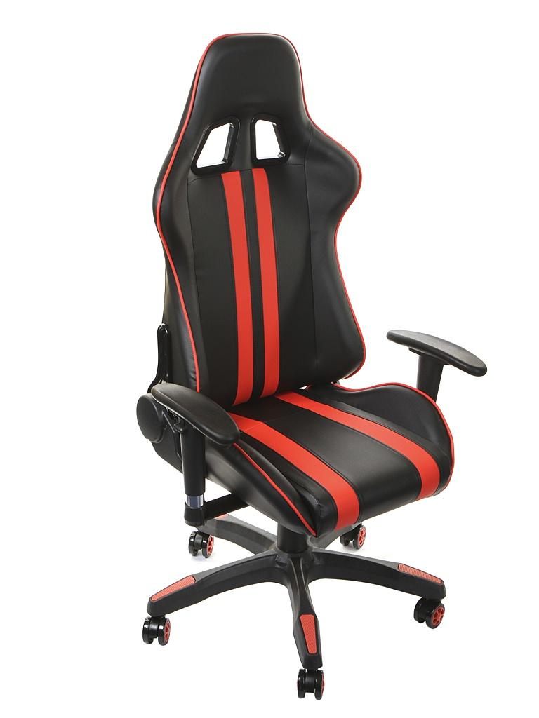 Компьютерное кресло TetChair iCar Black-Red 10725