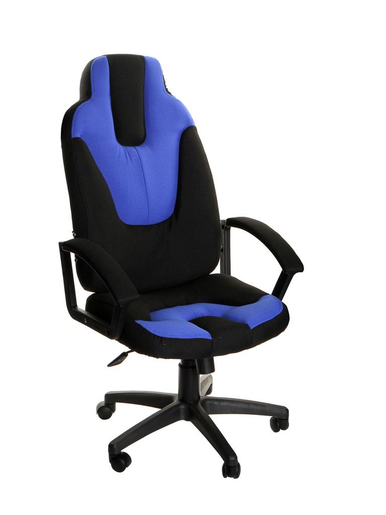 Компьютерное кресло TetChair Neo 3 Black-Blue 3041