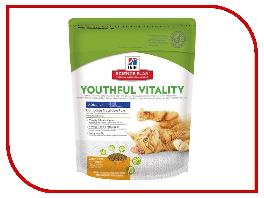 Корм Hills Youthful Vitality Курица 250g для пожилых кошек 10992 корм hills курица 85g для пожилых кошек 2111