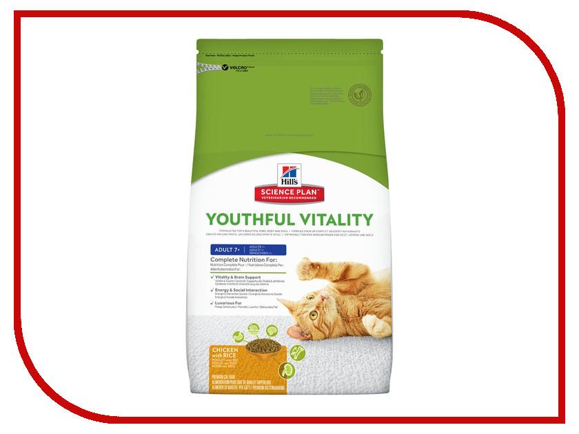 Корм Hills Youthful Vitality Курица 1.5kg для пожилых кошек 10993 корм hills курица 85g для пожилых кошек 2111