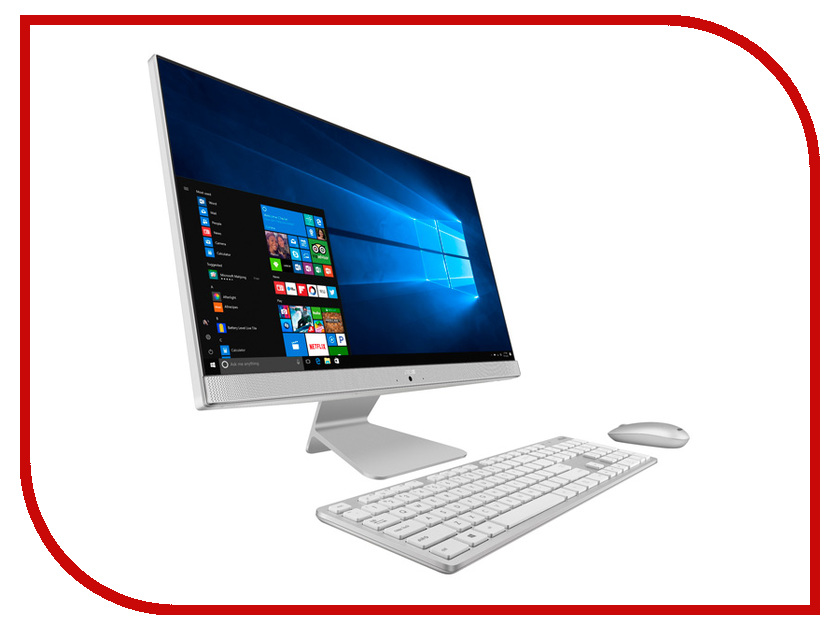 Моноблок ASUS V241ICGK-WA014T 90PT01W2-M01530 White (Intel Core i3-7100U 2.4 GHz/4096Mb/1000Gb/nVidia GeForce 930MX 2048Mb/Wi-Fi/Bluetooth/23.8/1920x1080/Windows 10)