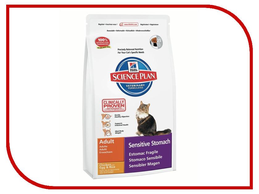 Корм Hills Сенсетив Стомак чуствительный желудок 1.5kg для кошек 7619 корм hills сенсетив скин чувствительная кожа 400g для кошек 5286