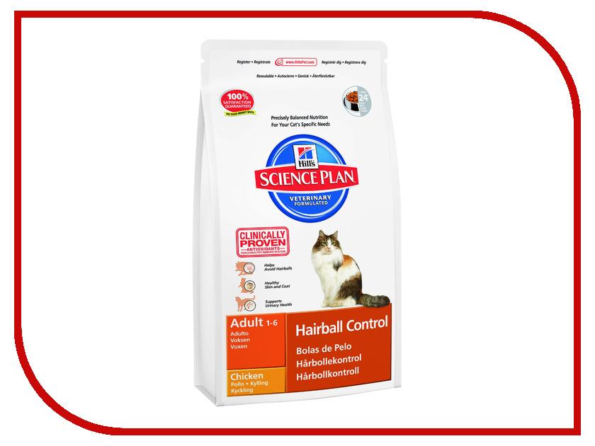 Корм Hills Хаербол контроль выведение шерсти из желудка 5kg для кошек 8000