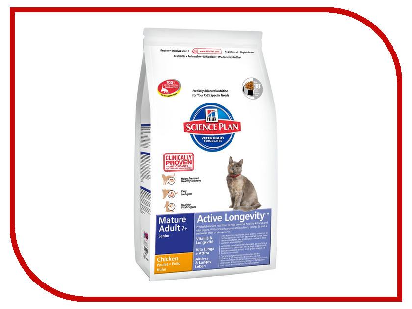 Корм Hills Курица 2kg для пожилых кошек 8742 корм hills курица 85g для пожилых кошек 2111