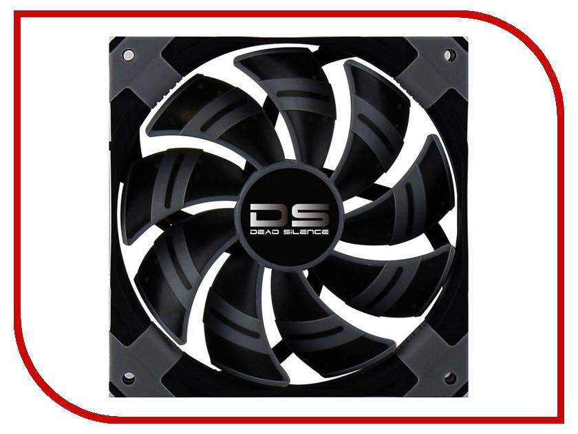 Вентилятор AeroCool DS Black 120mm вентилятор aerocool ds синяя подсветка 120mm 4713105951585
