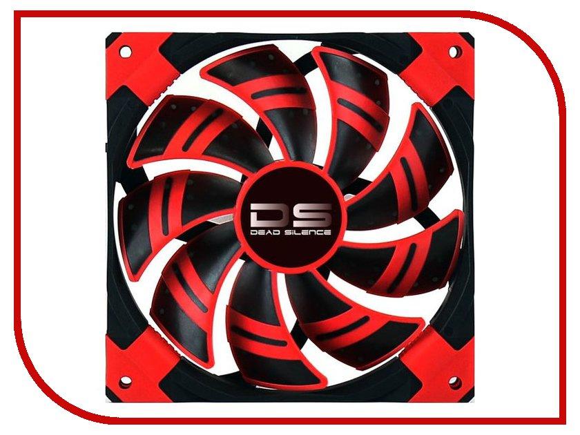 Вентилятор AeroCool DS Red 120mm вентилятор aerocool ds синяя подсветка 120mm 4713105951585