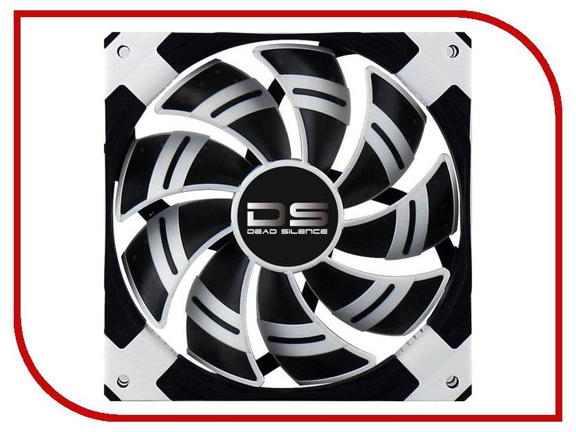 Вентилятор AeroCool DS White 120mm вентилятор aerocool shark fan white edition 120mm en55505