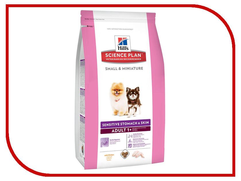 Корм Hills Курица 3kg для собак миниатюрных размеров с чувствительным пищеварением 10517 кружка курица клементина