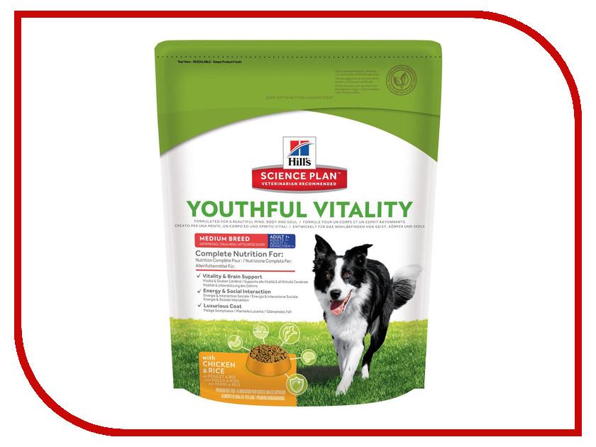 Корм Hills Youthful Vitality Курица 750g для пожилых собак средних пород 10987