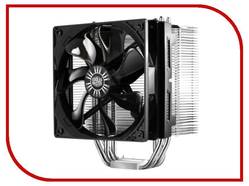 Кулер Cooler Master Hyper 412S RR-H412-13FK-R1 (Intel LGA2011/LGA1366/LGA1156/LGA1150/LGA1155/LGA775/AMD FM1/AM3/AM2+/AM2) кулер cooler master dp6 8e5sb 0l gp tdp 82w lga1150 1155 1156
