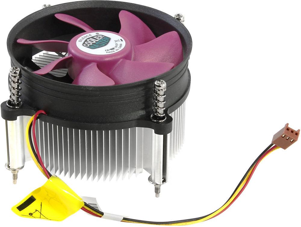Кулер Cooler Master C116 CP6-9GDSC-0L-GP (Intel LGA1150/LGA1155/LGA1156/LGA775) deepcool pu cooler 4 heat pipe double fan use for lga2011 lga1366 lga1156 lga1155 lga1150 lga775