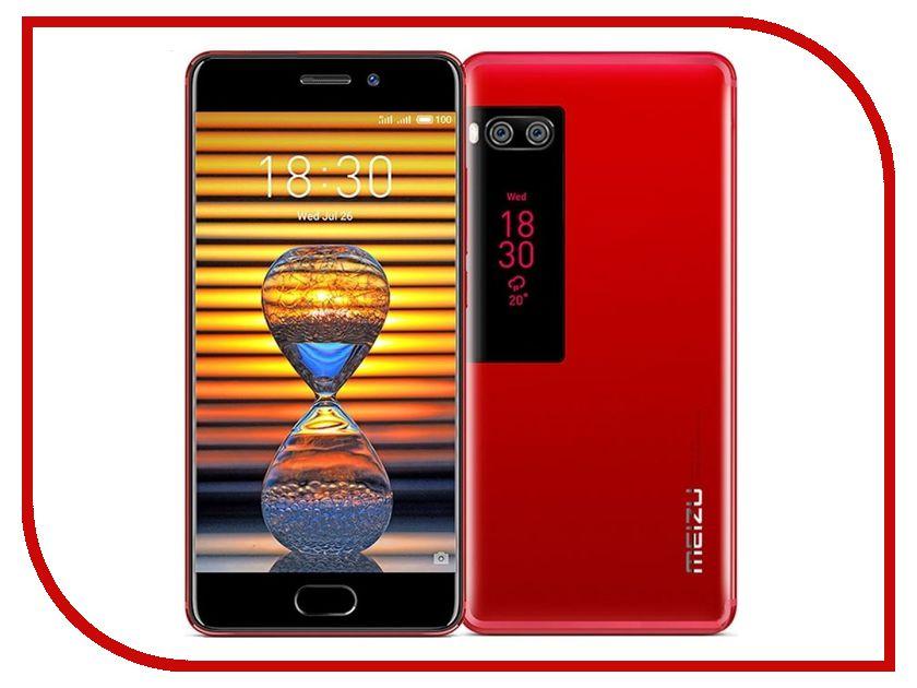 Сотовый телефон Meizu Pro 7 64Gb Red смартфон meizu pro 7 plus 64gb black