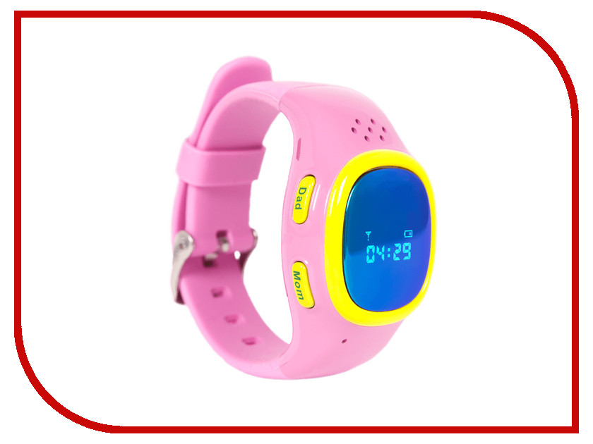 Zakazat.ru: Умные часы EnBe Enjoy the Best Children Watch 2 530 Pink