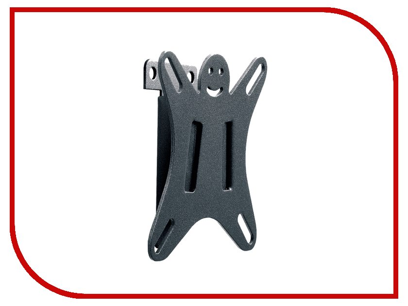 Кронштейн Holder LCDS-5001 (до 25 кг) Metal кронштейн holder lcds 5001 vesa 75 100 до 25кг фиксир черн для телевизора
