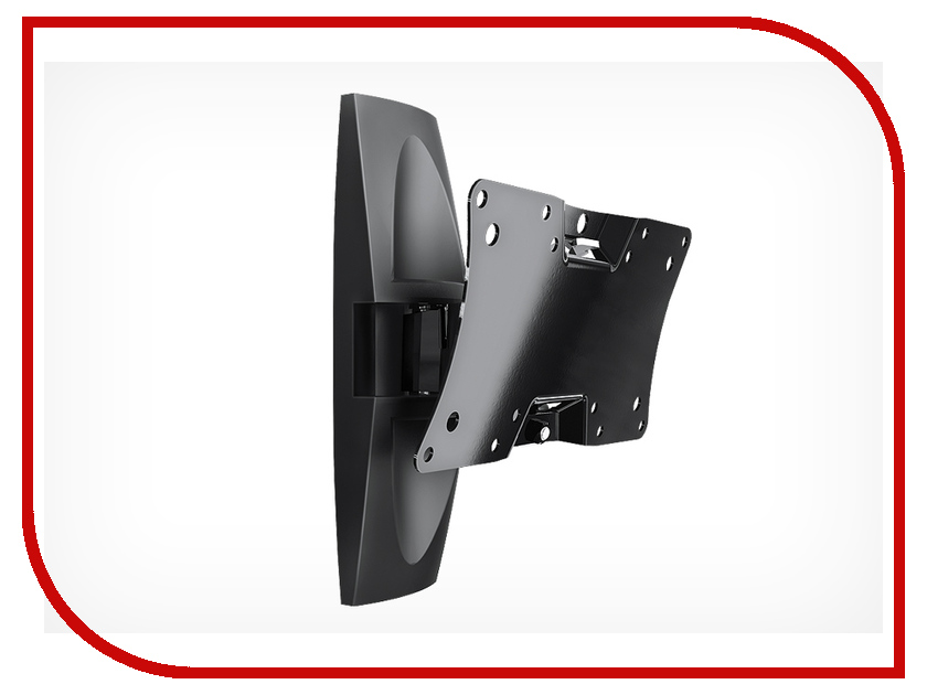Кронштейн Holder LCDS-5062 (до 30кг) Glossy Black holder lcds 5019