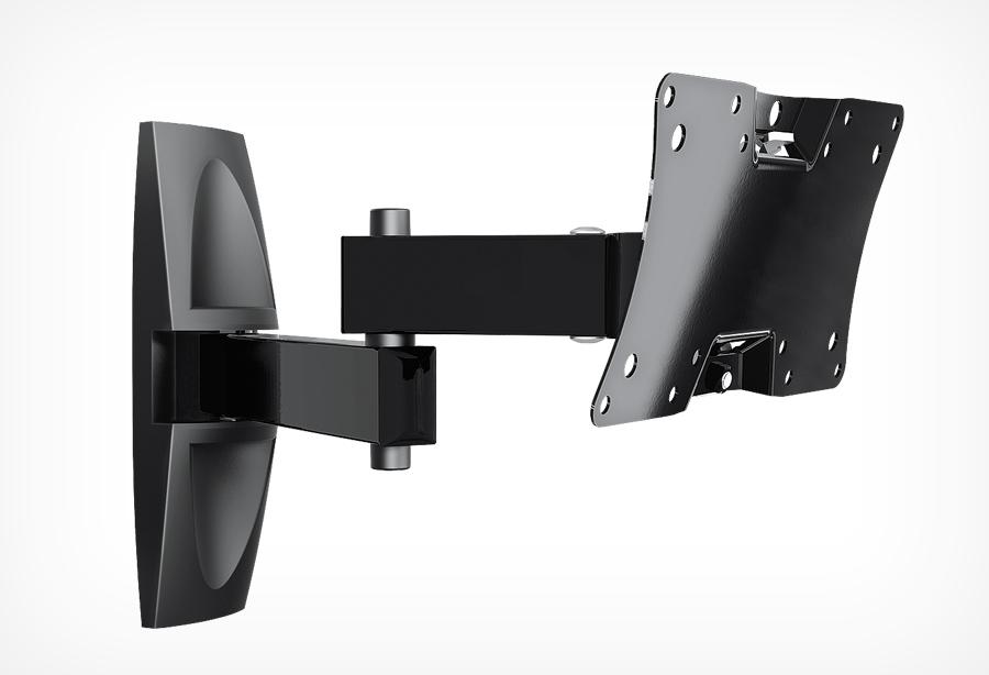 Кронштейн Holder LCDS-5064 (до 30кг) Glossy Black holder lcds 5065 black gloss кронштейн для тв