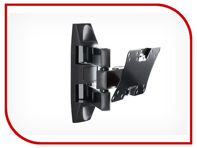 Кронштейн Holder LCDS-5065 (до 30кг) Glossy Black holder lcds 5065 black gloss кронштейн для тв