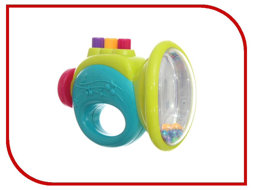 Погремушка Huile Toys Y61214 huile toys развивающая игрушка руль