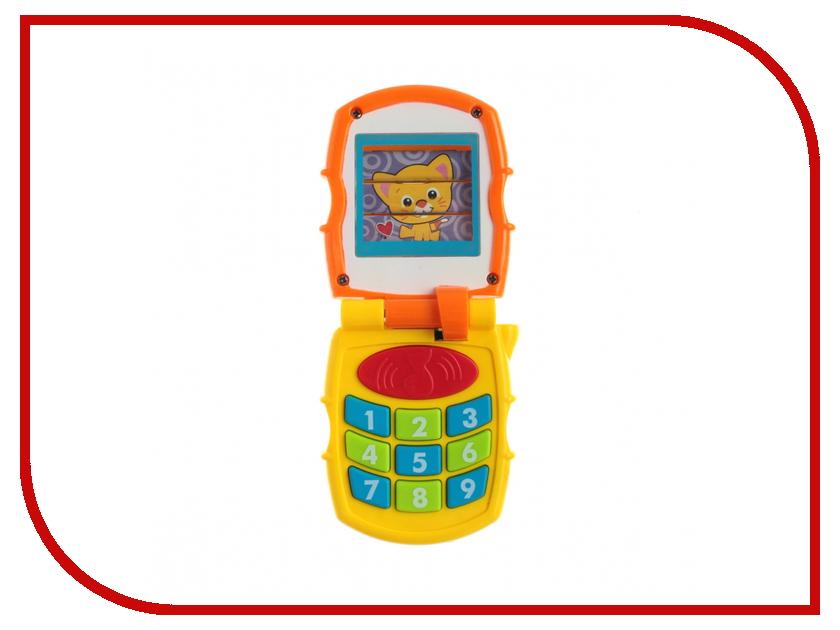 Телефончик Huile Toys Y61086 huile toys развивающая игрушка руль