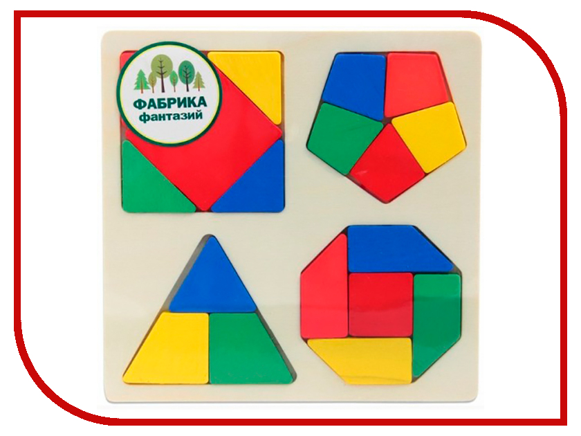 Игрушка Фабрика Фантазий Разноцветные фигуры 41772