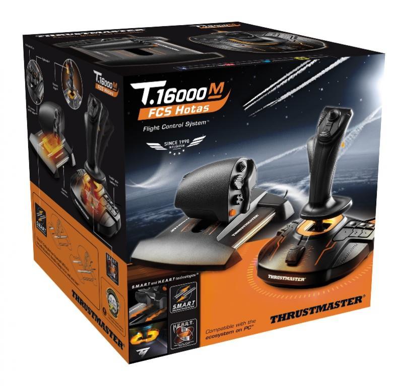 Набор Thrustmaster T-16000M FCS Hotas + бонусный код от War Thunder