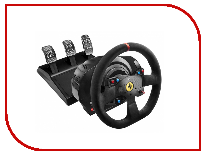 Руль Thrustmaster T300 Ferrari Integral Rw Alcantara ED EU PS4/PS3 4160652 руль thrustmaster tx rw leather edition eu xbox one pc 4460133