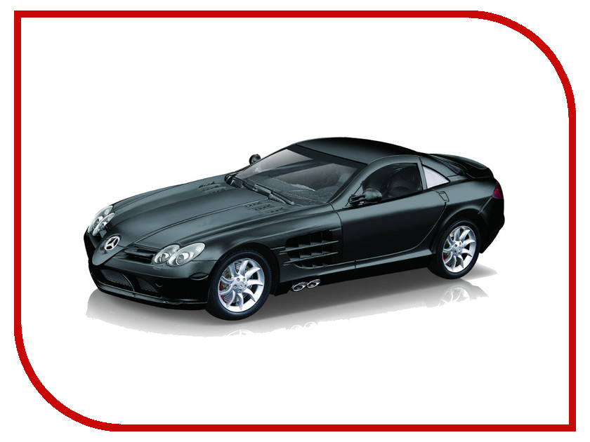 Игрушка Hoffmann Mercedes-Benz SLR McLaren R199 1:24 Black Matte 48077 fujimi 1 24 rs 66 mclaren f1 12573 car model kit