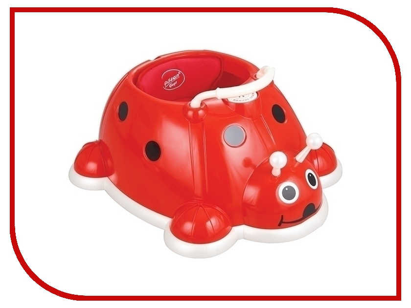 Ходунки Pilsan Love Bug Baby Walker Божья коровка Red 07-499 pilsan rabbit