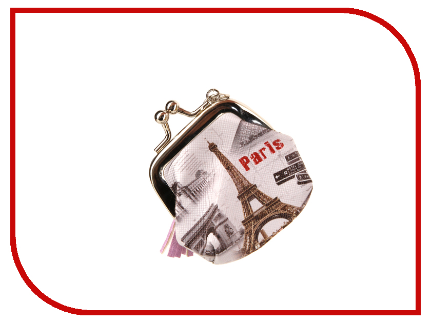 Брелок GOOD MOOD Кошелек Париж 4690664100190