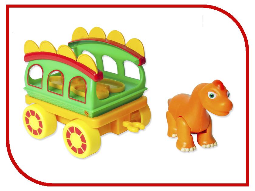 поезд динозавров выпуск 4 серии 16 20 Игрушка 1Toy Поезд Динозавров Т59399