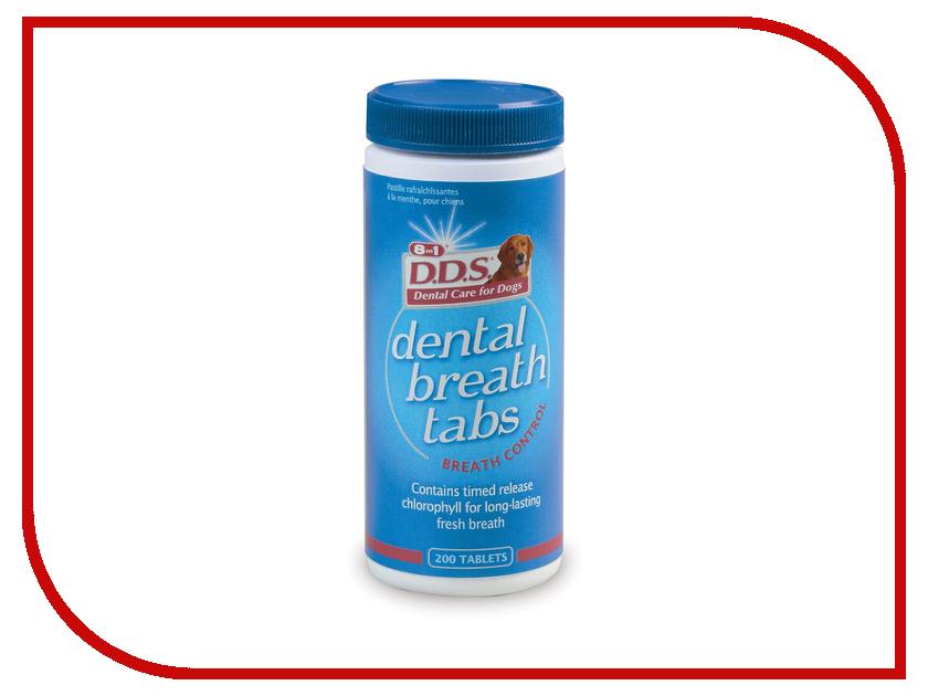 Витамины 8 in 1 D. D. S. Dental- Breath Mint Tin для освежения дыхания 200 таб.1017233