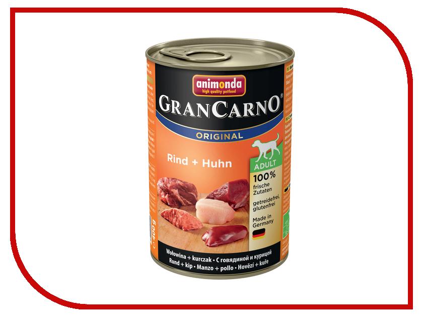 Корм Animonda Gran Carno Original Adult Говядина/Курица 400g для взрослых собак 82732 говядина 110002