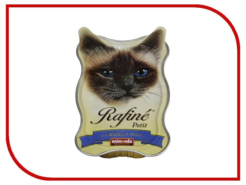 Корм Animonda Rafine Petit Паштет из Деликатесной Рыбы 85g для взрослых кошек 83472 корм для кошек animonda rafin petit деликатесная рыба паштет конс 85 г