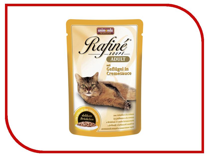 Корм Animonda Rafine Soupe Adult Птица в сливочном соусе 100g для взрослых кошек 83657