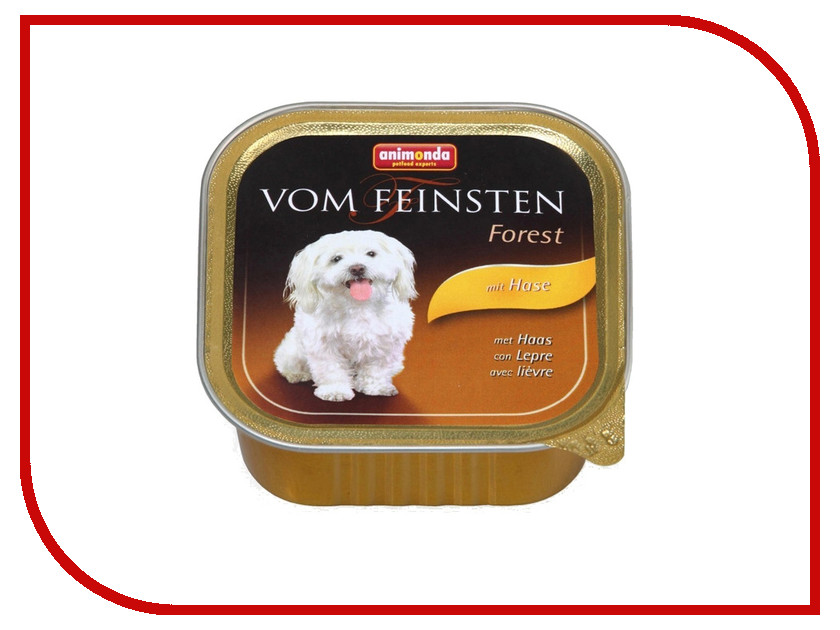 Корм Animonda Vom Feinsten Forest Кролик 150g для собак 82980