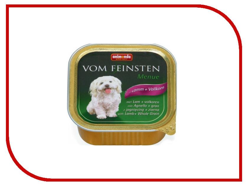 Корм Animonda Vom Feinsten Menue Ягненок/цельные злаки 150g для собак 82969