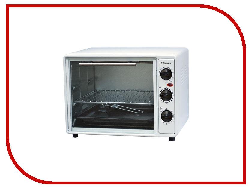 Мини печь Sakura SA-7005W электробритва sakura sa 5409bk