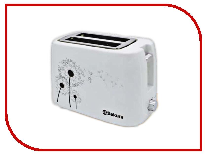 Тостер Sakura SA-7608W White