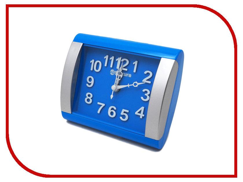 Часы Sakura SA-8503BL Blue-Silver часы sakura sa 8502r red