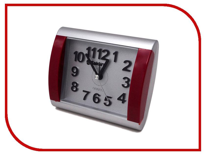 Часы Sakura SA-8503SR Silver-Bordo