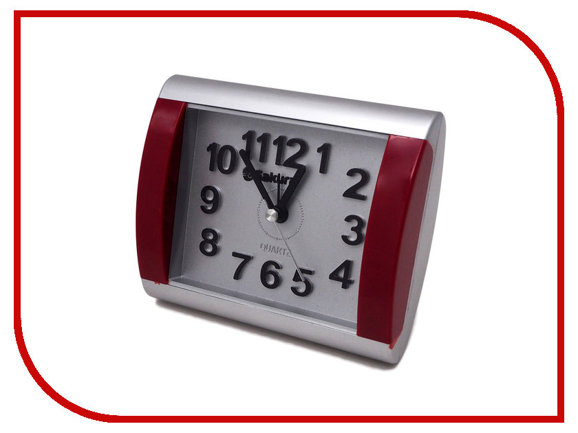 Часы Sakura SA-8503SR Silver-Bordo чайник sakura sa 2134s 1 8l