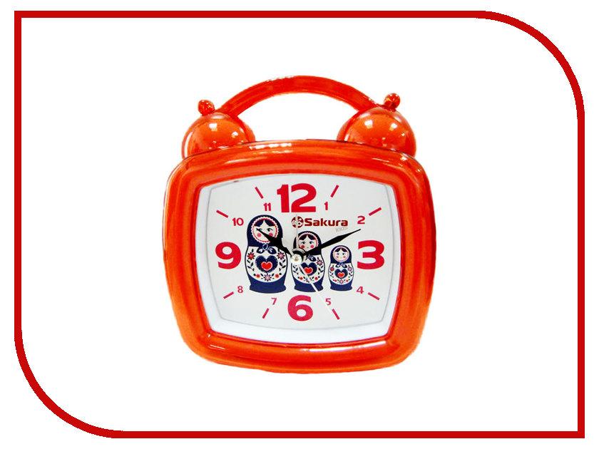 Часы Sakura SA-8505M Матрешки