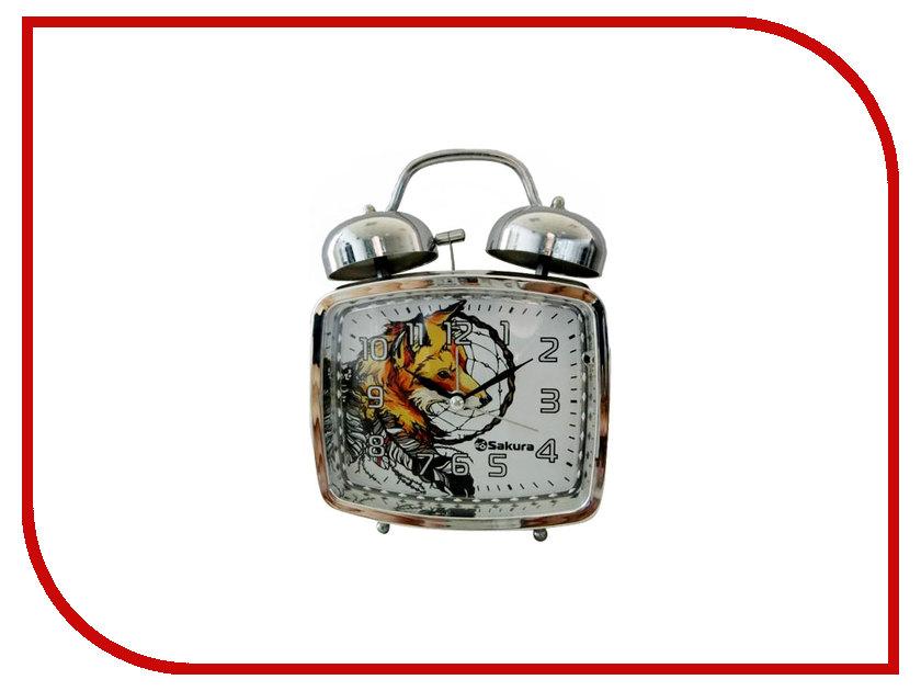 Часы Sakura SA-8506F Лиса часы sakura sa 8502r red