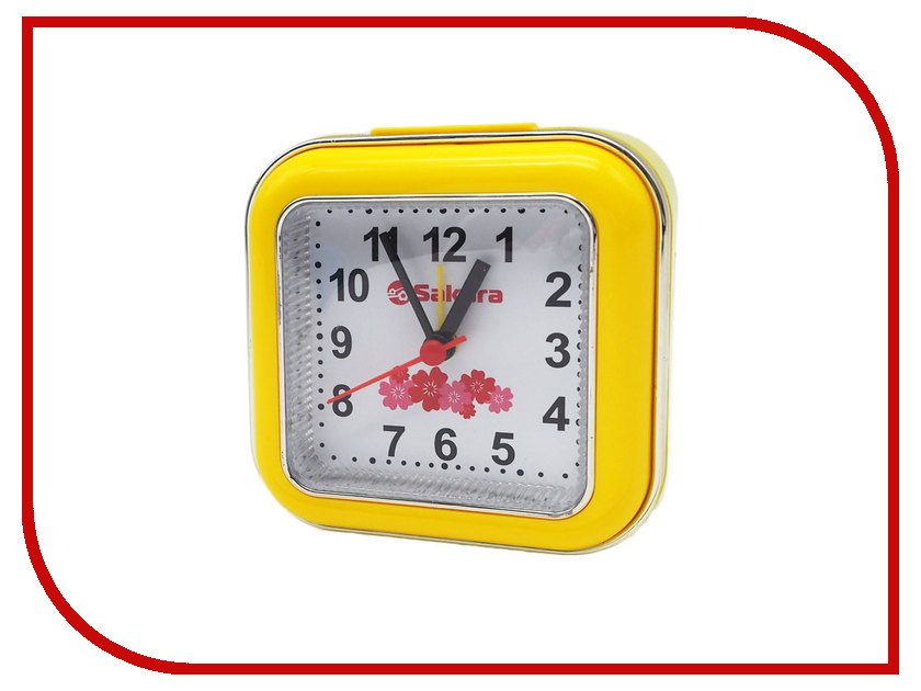 Часы Sakura SA-8512Y Yellow часы sakura sa 8502r red