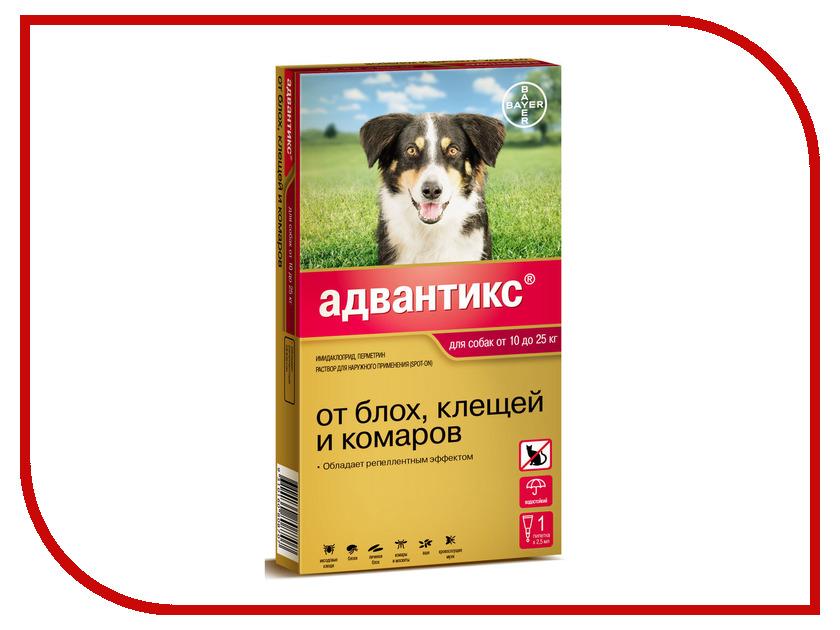 Bayer GL Адвантикс 250С капли для собак от 10 до 25kg 01.04.2019 85210009