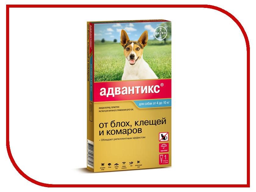 Bayer GL Адвантикс 100С капли для собак от 4 до 10kg 01.07.2019 85209965