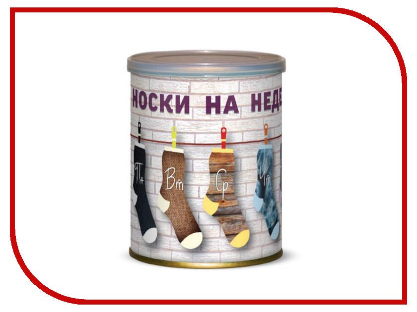 Гаджет Носки на недельку Canned Socks Black 415287