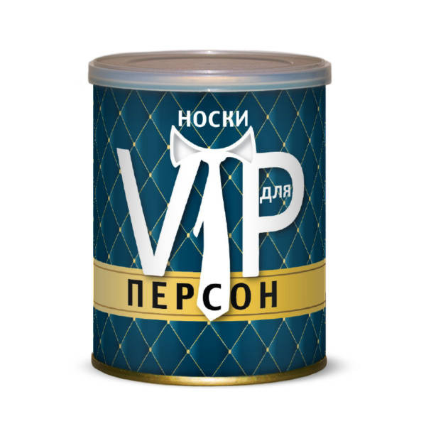 Носки для VIP персон Canned Socks Black 415263