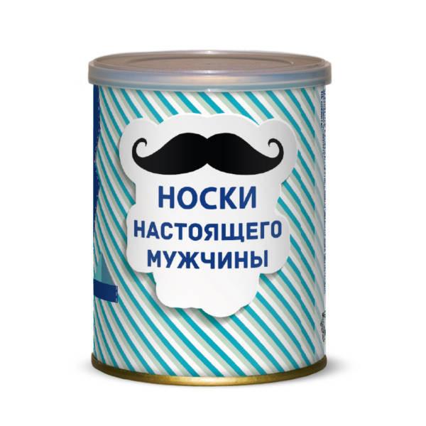 Фото - Носки настоящего мужчины Canned Socks Black 415232 оформление шарами для настоящего мужчины