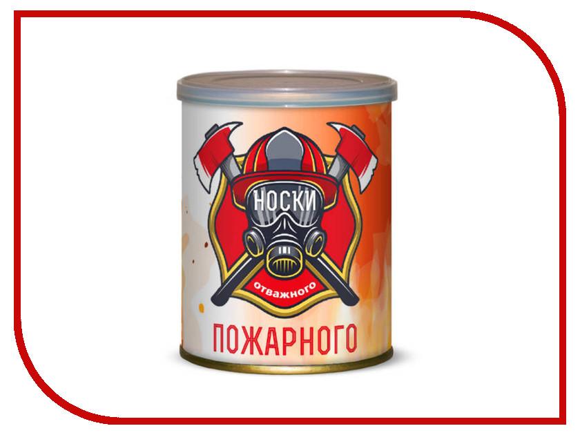 Гаджет Носки отважного пожарного Canned Socks Black 415225
